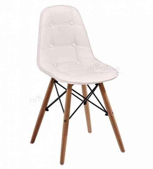 Skandinávská židle SASSY bílá DOPRODEJ
