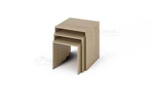 Konferenční stolek LENNY 3in1 dub sonoma