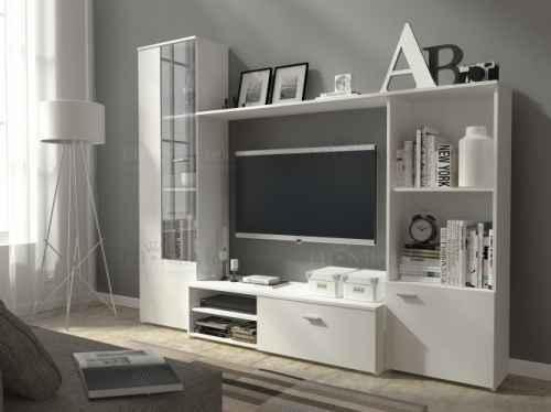 Obývací stěna HUGGO bílá
