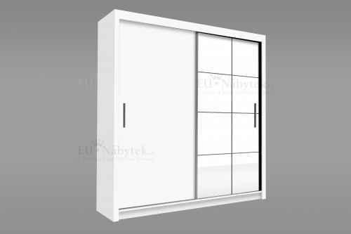 Šatní skříň PEXESO 150 bílá