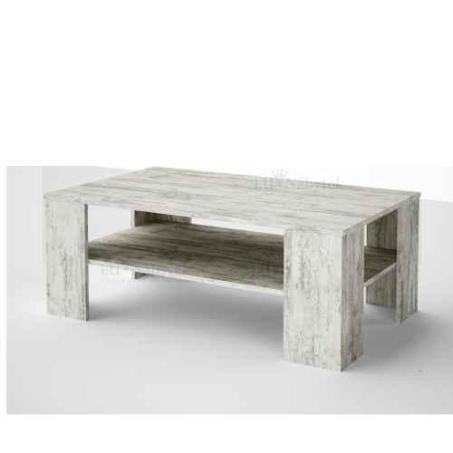 Konferenční stolek EMANUEL bílá borovice