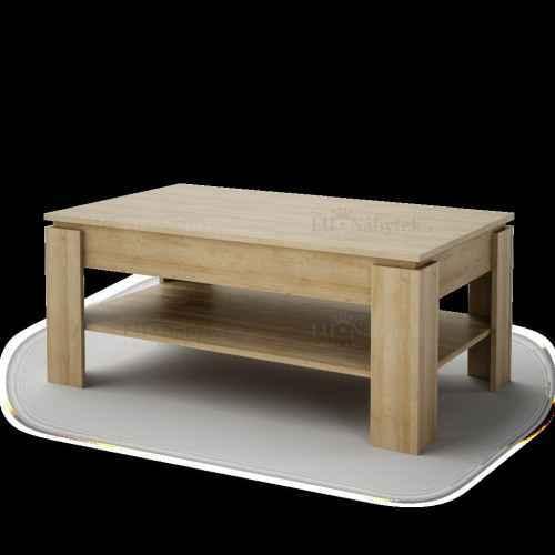 Konferenční stolek MATHIAS dub riviera