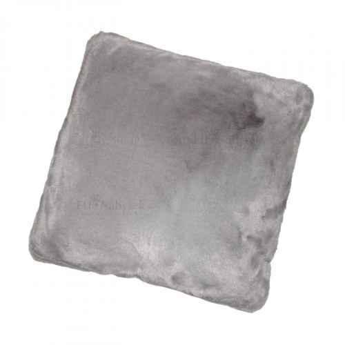 Polštář, šedá, 45x45, RABITA TYP 3