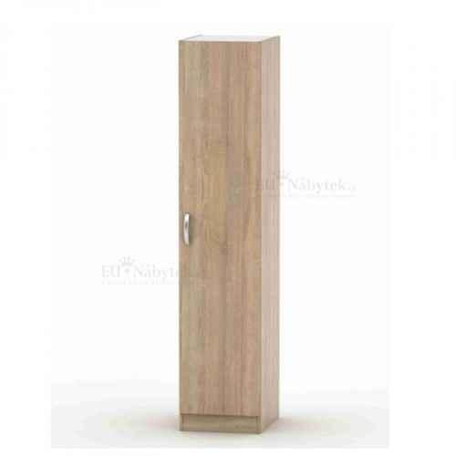1-dveřová skříň, dub sonoma, BETTY 2