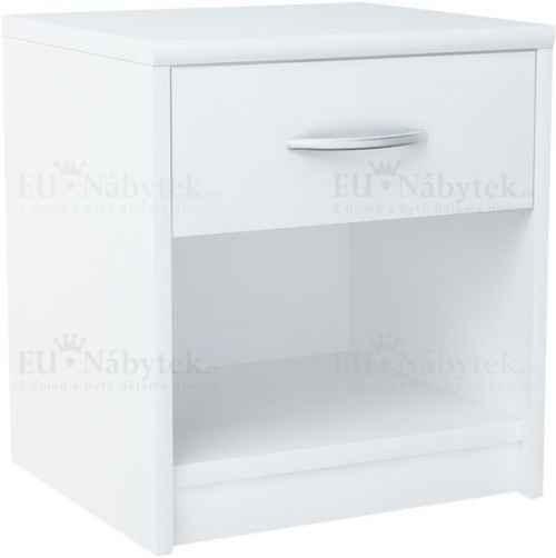 Noční stolek NINA bílá