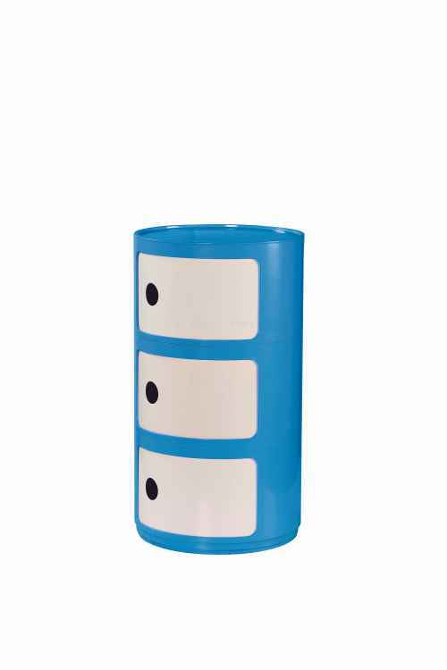 ALF kontenerek niebiesko-biały (1p=1szt)