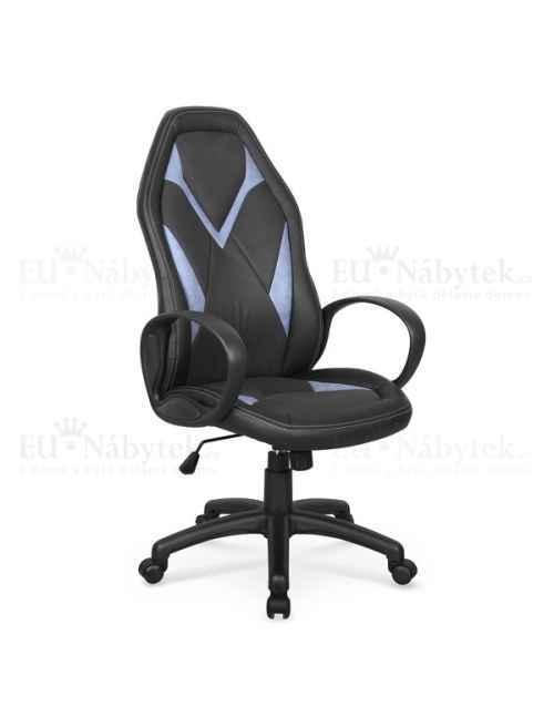 Kancelářská židle COYOT černá/modrá