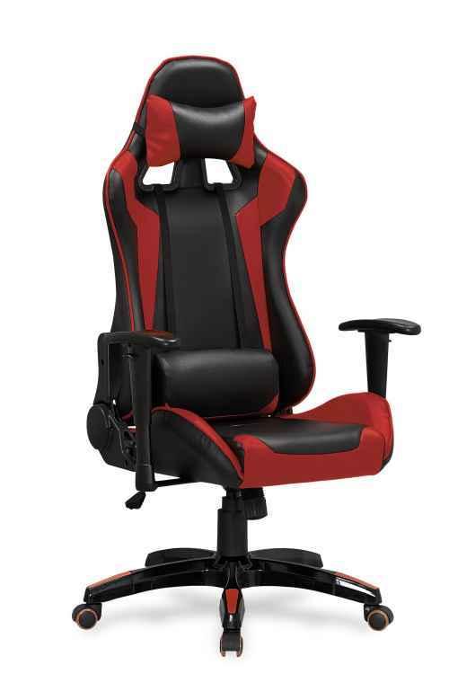 Kancelářská židle DEFENDER černá/červená