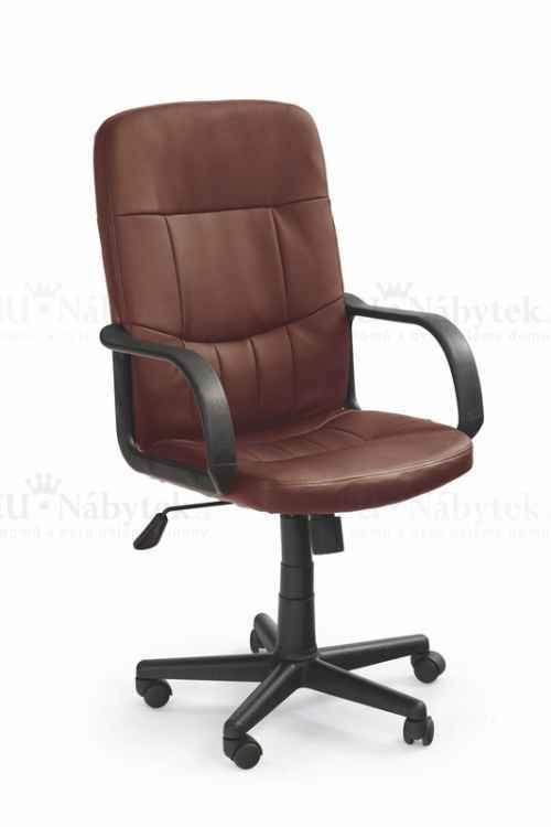 Kancelářská židle DENZEL hnědá