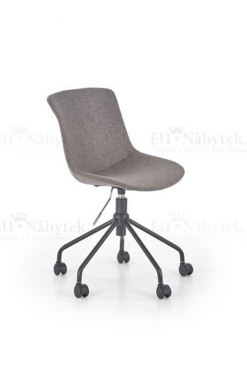 Dětská židle DOBLO šedá