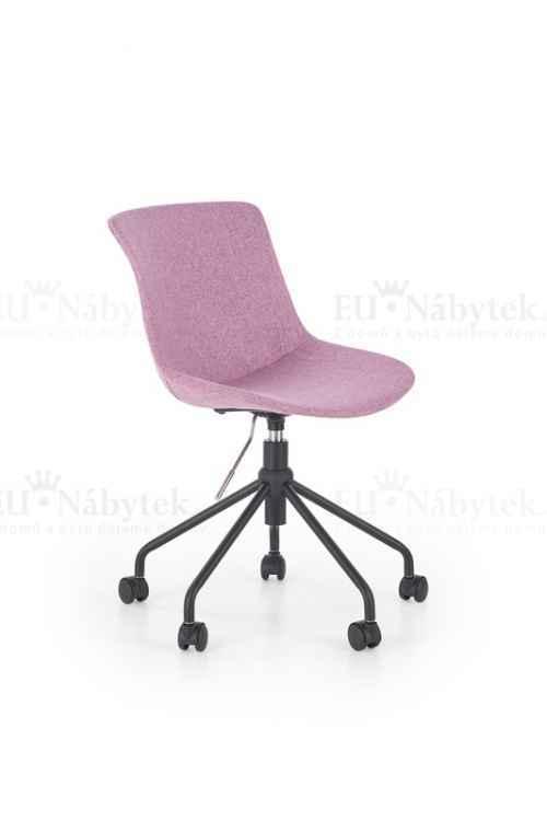 Dětská židle DOBLO růžová