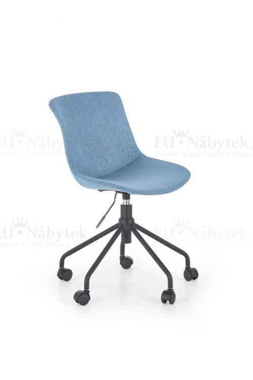 Dětská židle DOBLO tyrkysová
