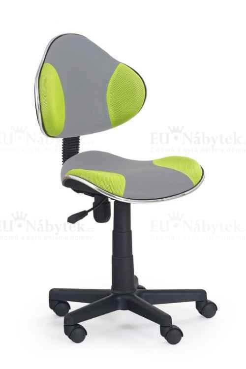 Dětská židle FLASH 2 zelená/šedá