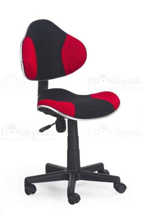 FLASH fotel młodzieżowy czarno-czerwony