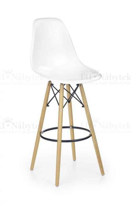 Barová židle H51 bílá