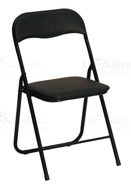 Skládací židle K5 černá