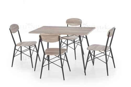 Jídelní stůl KARIBIK 110 + 4 židle