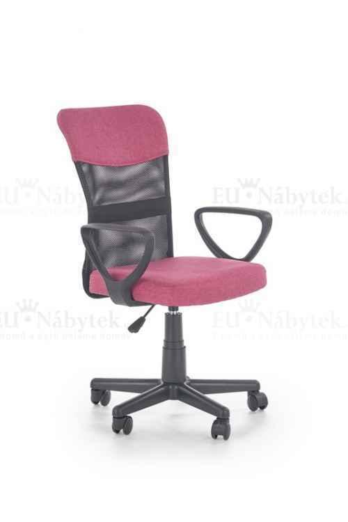 Kancelářská židle TIMMY růžová