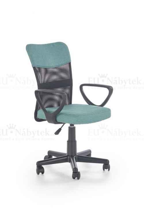 Kancelářská židle TIMMY tyrkysová