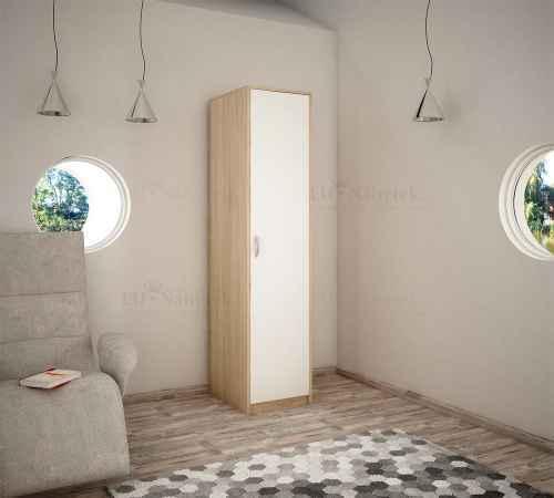 Šatní skříň VEDOS dub sonoma/bílá