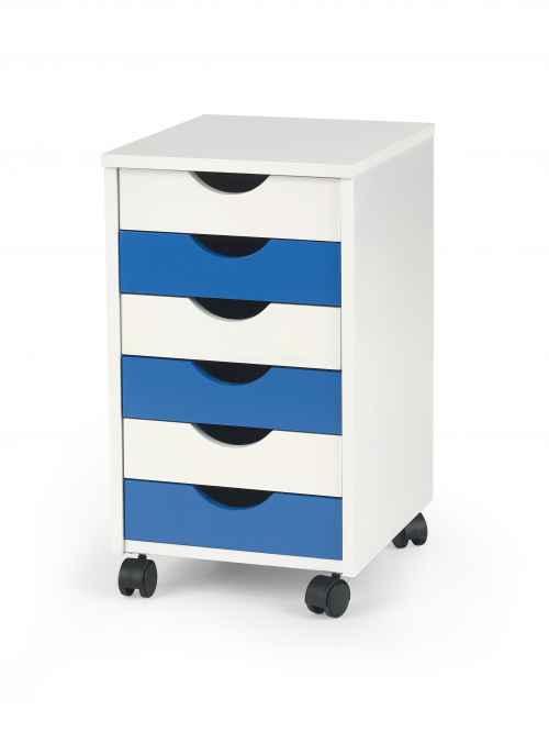 Kontejner pojízdný BEPPO 2 bílá/modrá