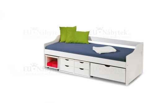 Dětská postel FLORO 2 bílá