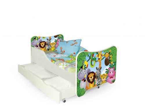 Dětská postel HAPPY JUNGLE vícebarevná