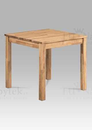 Jídelní stůl 80x80, masiv dub mat