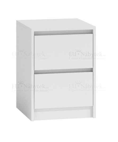 Noční stolek KARIN bílá