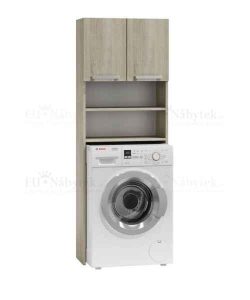 Skříňka nad pračku POLAR dub sonoma