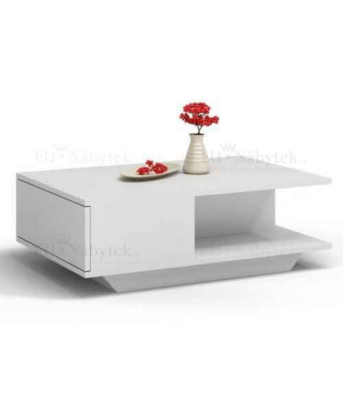 Konferenční stolek DENIS bílá