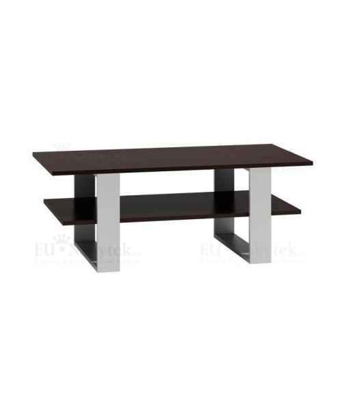 Konferenční stolek MARTES wenge/bílá
