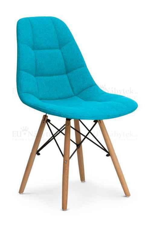 Skandinávská židle ANETA modrá