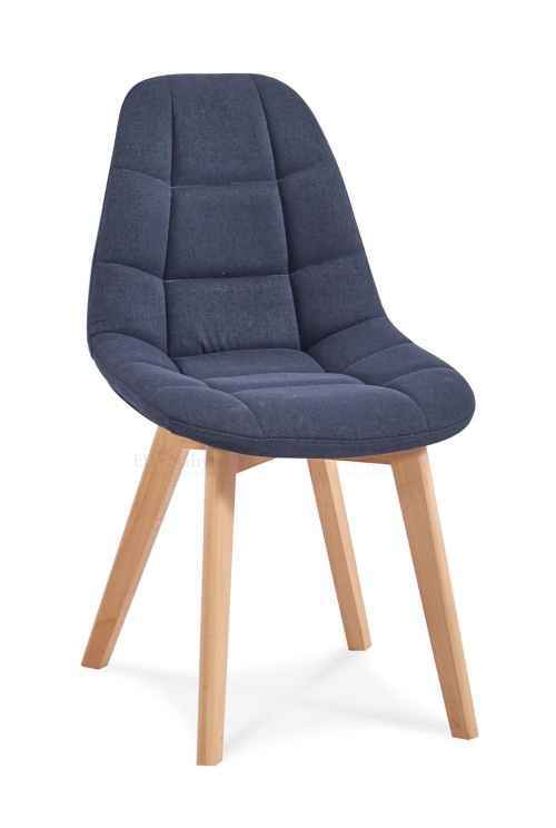 Skandinávská židle WEST tmavě šedá DOPRODEJ