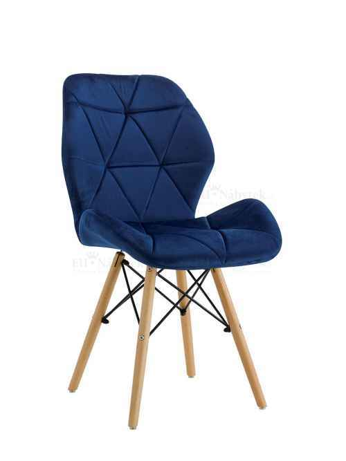 Skandinávská židle LIOTTE BIG modrá