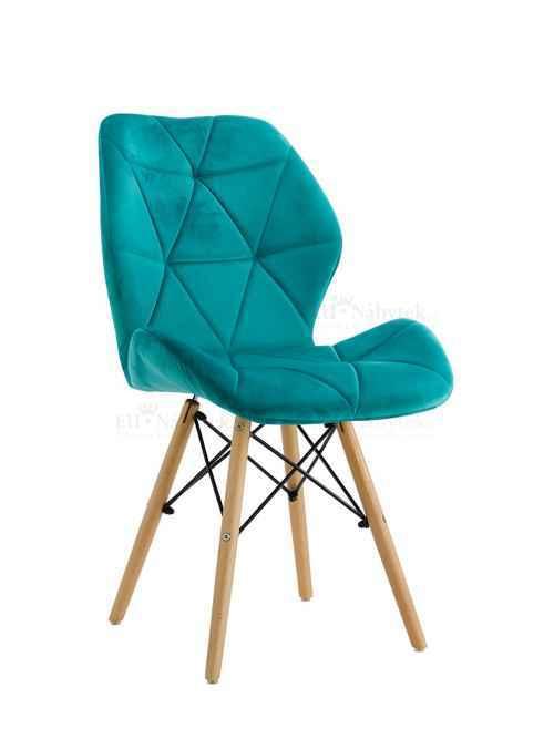 Skandinávská židle LIOTTE BIG tyrkysový