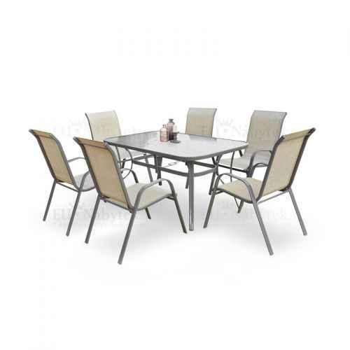Zahradní stůl MOSLER šedá