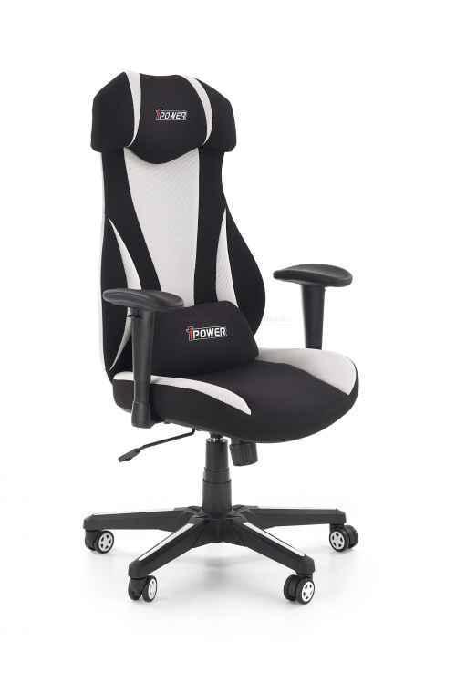 Kancelářská židle ABART černá/bílá