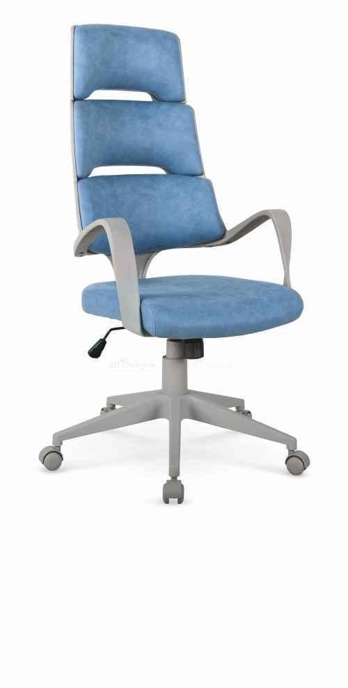 Kancelářská židle CALYPSO modrá / šedá