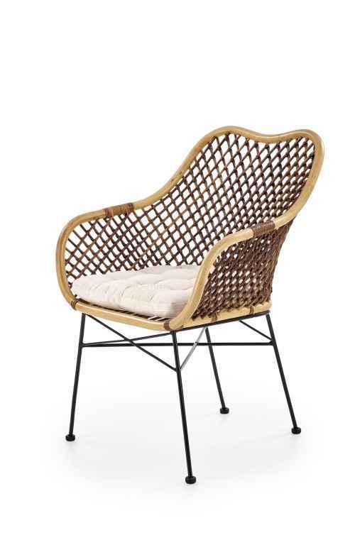 Židle K336 ratan přírodní