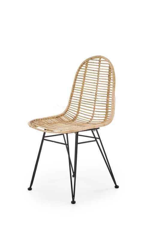 Přírodní ratanová židle K337
