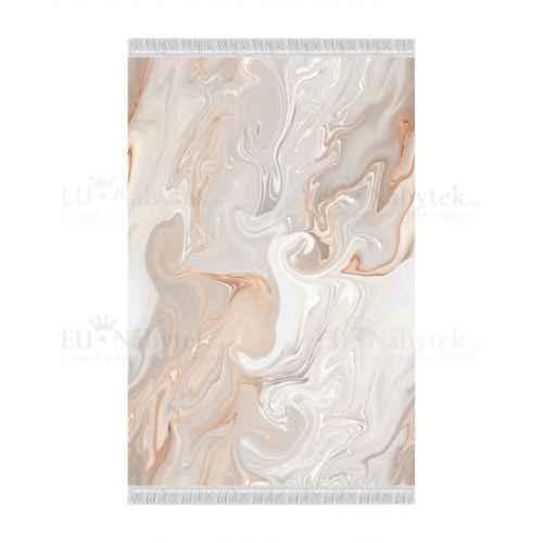 Koberec, béžová / krémová / bílá / vzor, 160x230, RENOX TYP 2