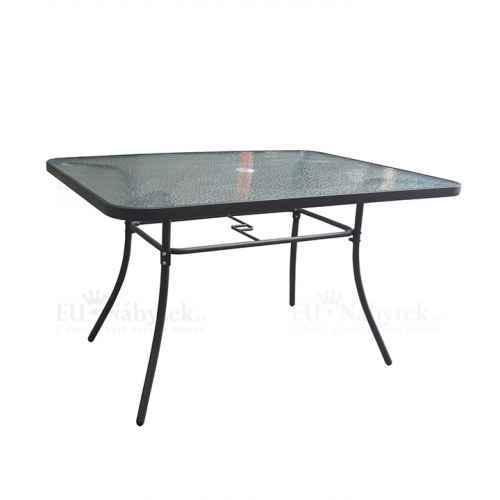 Jídelní stůl, tvrzené sklo / ocel, PASTER New