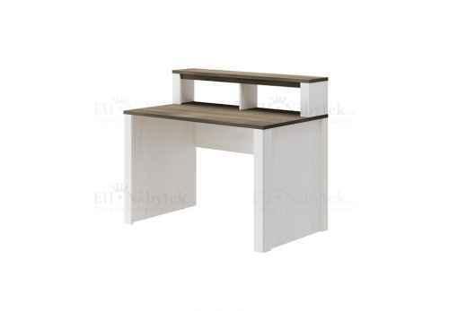 PC stůl ALPO 164 modřín sibiřský světlý / tmavý