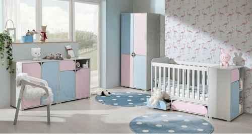 Dětský pokoj MINNIE II růžová/modrá