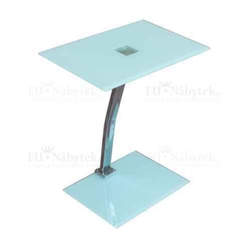 Příruční stolek, bílá, PELOK
