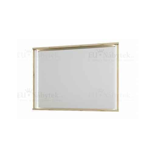Zrcadlo, dub wellington / bílá, LEIRA