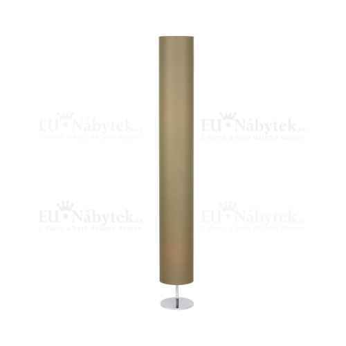 Stojací lampa, šedohnědá taupe QENNY 22