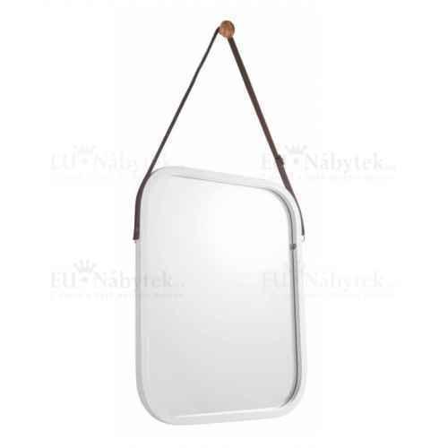 Zrcadlo, bambus/bílá, LEMI 2