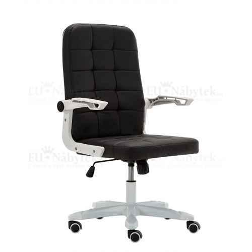 Kancelářské křeslo, bílá / černá, Zargo
